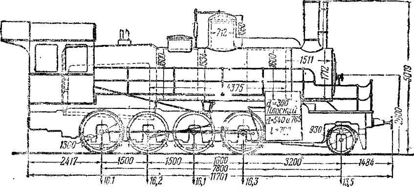 Схема паровоза серии Щч